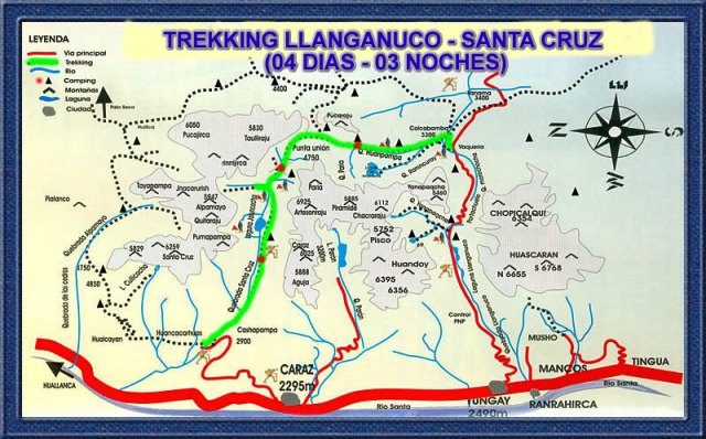 mapa santa